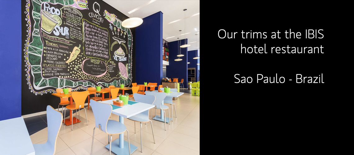 Our trims at the IBIS hotel restaurant – Sao Paulo - Brazil