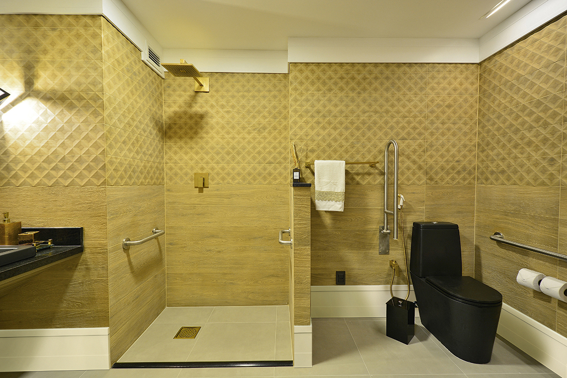 By type of room - bathroom - Santa Luzia