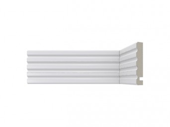 Crown Moulding - 449 Crown/White
