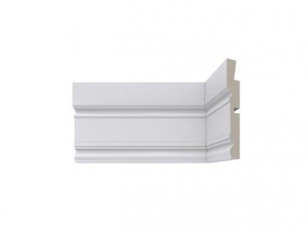 Crown Moulding - 01 Crown/White